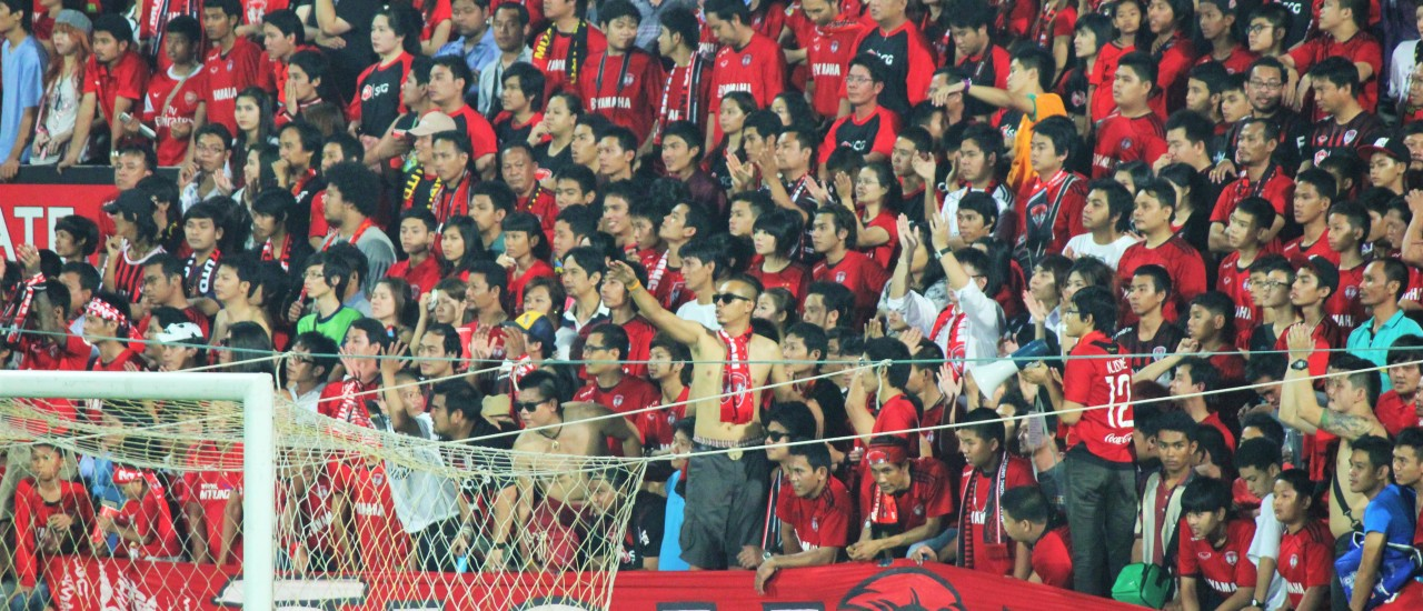 Football in Bangkok – Muang Thong United v Bangkok Glass (or that time we got into a totally sold out stadium!)