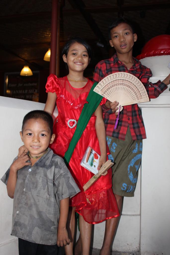 Maudreyou, Ngenge and Keto.
