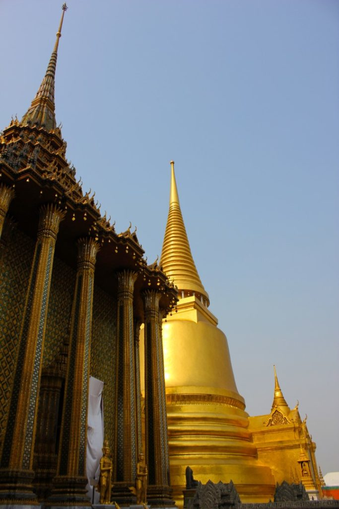The stupas of Wat Phra Kaew.