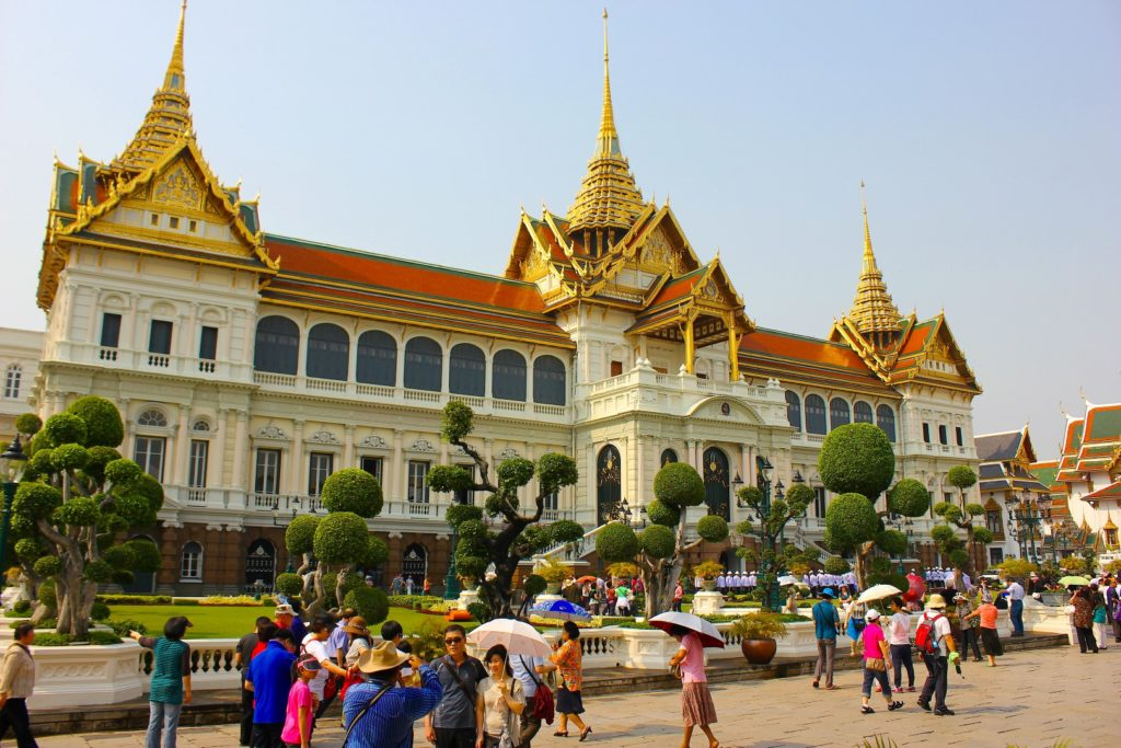"""Phra Thinang Chakri Maha Prasat"" - this one of the main buildings of the Grand Palace."